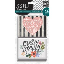 Me & My Big Ideas Fresh Florals Pocket Pages Themed Cards TPC-35