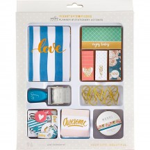 Webster's Pages Love Everyday Color Crush Planner & Stationery Accents Kit TRAY5