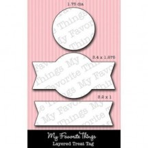 My Favorite Things Layered Treat Tag Die-namics Universal Cutting Dies