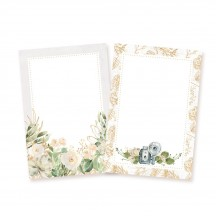 """P13 Truly Yours Wedding 6""""x4"""" Cardstock Journaling Cards P13-TRU-28"""