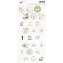 P13 Truly Yours Wedding Circle Icon & Phrase Stickers 03 P13-TRU-13