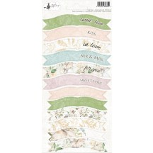 P13 Truly Yours Wedding Party Banner Stickers P13-TRU-14