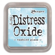 Ranger Tim Holtz Tumbled Glass Distress Oxide Ink Pad TDO56287 blue