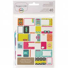 Becky Higgins Project Life Themed Cards - Tween 97714
