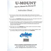 Creative Expressions U-Mount A5 Repositional Mounting Cushion