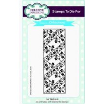 Creative Expressions Ivy Trellis Striplet Cling Stamp - Stamps To Die For - UMS615