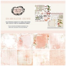 "49 and Market Vintage Artistry Coral 12""x12"" Collection Pack VAC32242"
