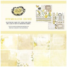 "49 and Market Vintage Artistry Butter 12""x12"" Collection Pack VAC32617"