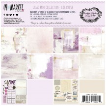 "49 and Market Vintage Artistry Lilac MIni 6""x6"" Collection Pack VAC-32709"