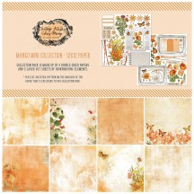 """49 and Market Vintage Artistry Mango 12""""x12"""" Mini Collection Pack VAC-35229"""