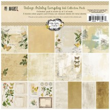 "49 and Market Vintage Artistry Everyday MIni 6""x6"" Collection Pack VAE-33287"