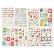Simple Stories Simple Vintage Botanicals Stickers 10488