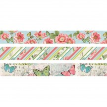 Simple Stories Simple Vintage Botanicals Washi Tape 3 Roll Pack 10489