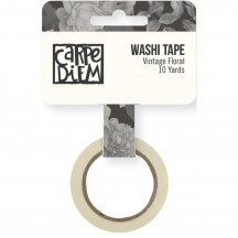 Simple Stories Beautiful Washi Tape - Vintage Floral 7958