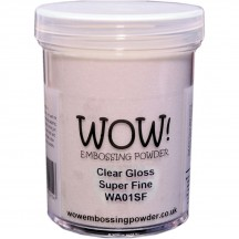 WOW! Large Clear Gloss Embossing Powder - WA01 SF)-L - 160ml