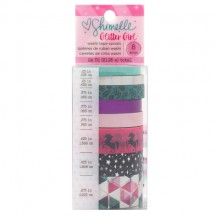 American Crafts Shimelle Glitter Girl Washi Tape Rolls 343663
