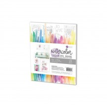 "Prima Marketing 8""X10"" Watercolor Coloring Book 24 sheets 585723"