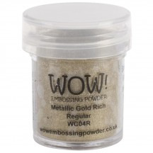 WOW! Metallic Gold Rich Embossing Powder - WC04 (R)