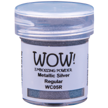 WOW! Metallic Silver Embossing Powder - Metallic - WC05 (R)