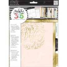 Me & My Big Ideas Create 365 CLASSIC Happy Planner Wedding Extension Kit MONT-04