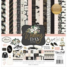"Echo Park Wedding Day 12""x12"" Collection Kit WD181016"