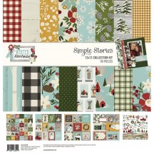 "Simple Stories Winter Farmhouse 12""x12"" Collection Kit 11600"