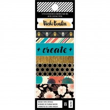 American Crafts Vicki Boutin Wildflower & Honey Washi Tape Rolls 354110