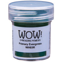 WOW! Evergreen Embossing Powder - Primary - WH03 (R)