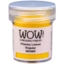 WOW! Lemon Embossing Powder - Primary - WH06 (R)