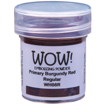 WOW! Burgundy Red Embossing Powder - Primary - WH08 (R)