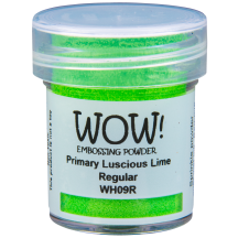 WOW! Luscious Lime Embossing Powder - Primary - WH09 (R)