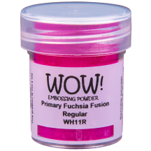 WOW! Fuchsia Fusion Pink Embossing Powder - Primary - WH11 (R)