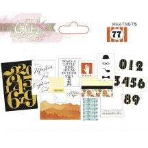 Glitz 77 Whatnots Die Cut Cardstock Pieces WN1837