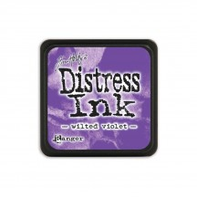 Ranger Tim Holtz Wilted Violet Mini Distress Ink Pad TDP47360 purple