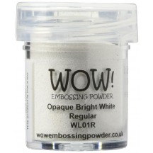 WOW! Bright White Embossing Powder - Opaque - WL01 (R)