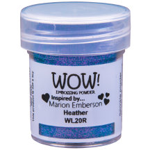 WOW! Heather Embossing Powder 15ml - Blue Purple - WL20 (R)