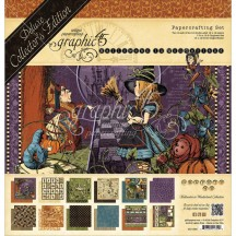 Graphic 45 Papercrafting Halloween in Wonderland Deluxe Collectors Edition Pack 4501377