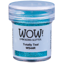 WOW! Totally Teal Embossing Powder 15ml - Glitter - WS44 (R)