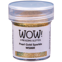 WOW! Pearl Gold Sparkle Glitter Embossing Powder - WS06 (R)