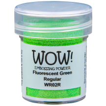 WOW! Fluorescent Green Embossing Powder - WR02 (R)
