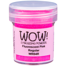 WOW! Fluorescent Pink Embossing Powder - WR04 (R)
