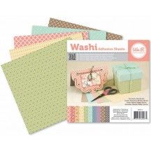 """We R Memory Keepers 6""""x6"""" Washi Adhesive Sheets - Multicolour - 62007-5"""