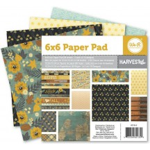 """We R Memory Keepers 6""""x6"""" Paper Stack - Harvest - 36 sheets - 62135-5"""