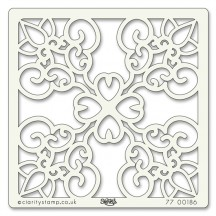 "Clarity Stencils Wrought Iron 7""x7"" Stencil Mask 77 00186"