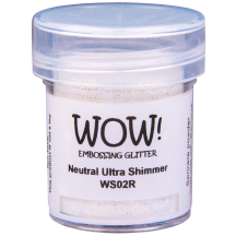 WOW! Neutral Ultra Shimmer Glitter Embossing Powder - WS02 (R)