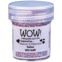 WOW! Salsa Embossing Powder 15ml - Glitter - WS144 (R)
