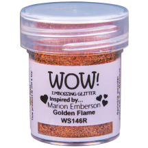 WOW! Golden Flame Embossing Powder 15ml - Glitter - WS146 (R)