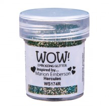 WOW! Hercules Embossing Powder 15ml - Glitter - WS174 (R) Green