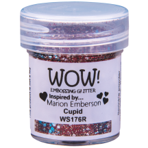 WOW! Cupid Embossing Powder 15ml - Glitter - WS176 (R) Red