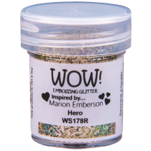 WOW! Hero Embossing Powder 15ml - Glitter - WS178 (R) Gold